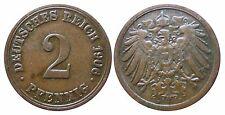 J 11   2 Pfennig Kaiserreich 1906 A in SS  502857