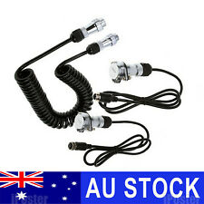 Heavy Duty Trailer Cable Suzy Coil Kit 4PIN Connector for Caravan Reverse Camera