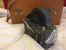 Pathe Super 16 16mm Movie Camera Made In France in working condition Bolex Filmo