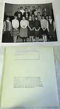 1964 Photo of The Teen Club Of Ft. Slocum w/ Maj. Alfred K. Barnes