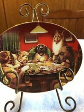 """Winner Takes All � Franklin Mint Collectors Plate"