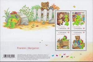 CANADA 2012 Souvenir Sheet #2541 Franklin the Turtle MNH