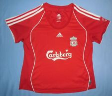 Liverpool FC / 2006-2008 Home - ADIDAS - LADIES Shirt / Jersey. Size: F44 D42 M?