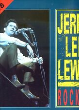 JERRY LEE LEWIS rocket - recorded 1988  GERMAN 1988 EX LP
