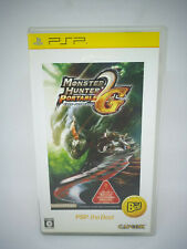 Sony PLAYSTATION Psp Portable Monster Hunter Portable 2nd G Psp the Best Japan