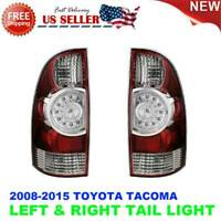 TAIL LAMP LED RIGHT & LEFT PAIR SET for TOYOTA TACOMA 2009-2015 US