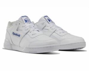 Mens Reebok Classic Workout Plus 2759 Trainers White