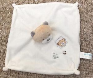 Card Factory Tiny Treasures Teddy Bear Comforter Baby
