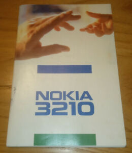 Nokia 3210 users guide issue 2