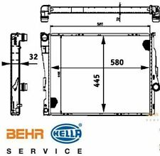 BMW E46 320i-330i Radiator for manual transmission & Air Con BEHR oe 17119071519