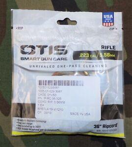 USGI OTIS Technology .223/5.56mm Rifle One-Pass Cleaning Ripcord US Mfg