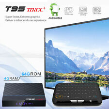 64GB T95 MAX+ Plus Android 9.0 Dual WiFi 8K UHD Bluetooth 4GB RAM TV Media Box