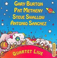 Quartet Live by Gary Burton (Vibes) (CD, Jun-2009, Concord)