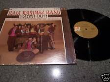 "Baja Marimba Band ""Watch Out"" LP Julius Wechter"