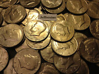 1980- 1989 PD Kennedy Half Dollar 10x Coin Lot all 80's Old Original US Mint 50¢