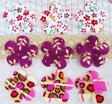 60 Wild Blossom Floral Mix Cotton Print Flower Applique/bow/Bright/trim/Sew H357