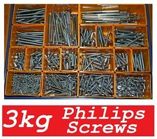 Honda CB750 - 3 kg A2 Phillips Screw Mega Selection  (M3 to M6) - 6mm to 110mm