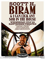 SCOTT H. BIRAM 2013 PORTLAND CONCERT TOUR POSTER - The Dirty Old One Man Band