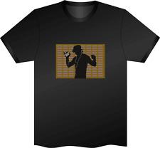 Sonido activado tipo De Baile Luz Intermitente de arriba para abajo Led T Shirt Xxl extrax L el