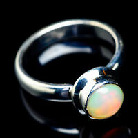 Ethiopian Opal 925 Sterling Silver Ring Size 6.75 Ana Co Jewelry R6156F