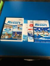 Wii Sports Resort Nintendo Wii Case & Manual Only Original! Authentic! EUC