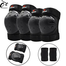 Unisex Knee Elbow Pads Set Joint Support MTB Bike Scooter Skate Protective Gear