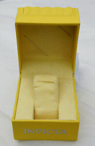 Invicta Watch Display Box, Mint Condition (Box Only - No watch)