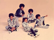Jackie, Tito, Jermaine, Marlon and Michael photograph - L6468 - The Jackson Five
