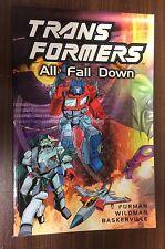 TRANSFORMERS -- All Fall Down TPB -- Titan Books