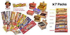 7 Packs mix 7 Flavors HONEYPUFF 1 1/4- Hemp Flavored Rolling Papers Slow Burning