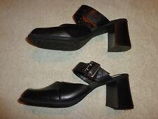 Tommy Hilfiger BLACK SHOES WOMEN'S SIZE 10 M (3 INCH HEEL)