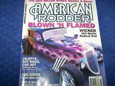 American Rodder Magazine,Rat Rods, Hot Rod & Custom Cars,July 2004