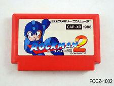 Rockman 2 Famicom Japanese Import FC NES Mega Man II Japan Capcom JP US Seller