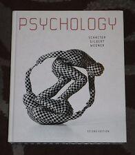 Psychology - Second Edition by Schacter Gilbert Wegner (Hardcover)