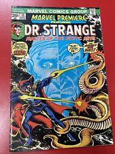 Marvel Premiere #10 featuring Dr. Strange (1973)🔥1st app Shuma Gorath Good Cond