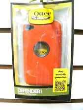 OTTER BOX DEFENDER RED/BLACK IPOD TOUCH 4TH GENERATION ORIGINAL NEW IN BOX