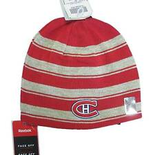 New NHL CCM Montreal Canadians Men's Winter Hat Hockey Reversible Beanie Toque