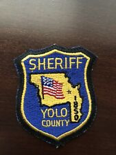 Yolo County Sheriff Shoulder Patch