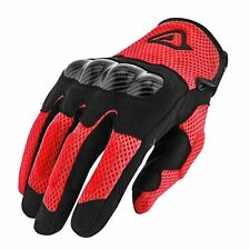 Glove Ramsey My Vented Red L Acerbis Scooter Clothing