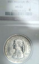 1921 Missouri Comm. Half Dollar NGC MS63 (D0312)