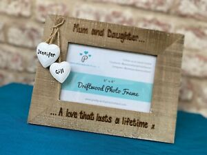 Love That Lasts A Lifetime Mum & Son / Daughter Personalised Frame Mothers Day