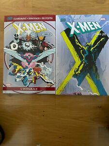 X-MEN INTEGRALE 1989 Tomes 1 & 2, Comme Neuf !! , Rare