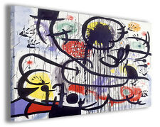 Quadri famosi Joan Mirò vol XXII Stampa su tela arredo moderno arte design