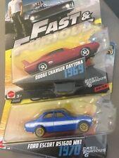 1970 FORD ESCORT rs1600 presque /& Furious 6//8 1:64 Hot Wheels dwf75 dwf68