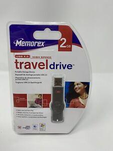 Memorex  USB 2.0 High Speed - traveldrive 2GB - Portable Storage Device