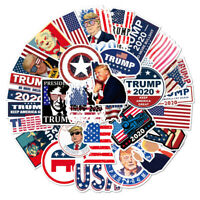 50pcs President Trump Stickers Self Adhesive Sticker Set Vinyl Decals Waterproof