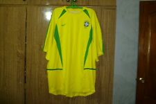 Brazil Nike Brasil Football Shirt Home 2002/2003/2004 World Cup Soccer Size 2XL