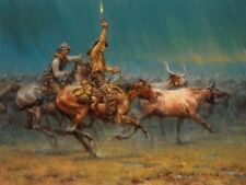The Wild Ones by Andy Thomas Western Print 15.5x12