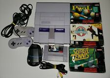 Nintendo SNES Bundle. 4 games. Super Nintendo Entertainment System.