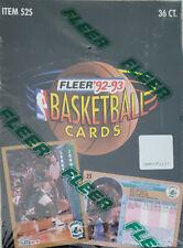 Fleer 1992-93 Series 1 Basketball Cards Factory
